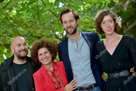 Laurent Tirard, Benjamin Lavernhe, Kyan Khojandi, Sara Giraudeau and Guilaine Londez