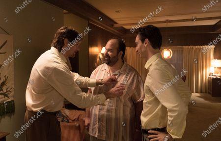 Alexander Skarsgard as Travis Stubbs, Mel Rodriguez as Ernie Gomes and Theodore Pellerin as Cody Bonar