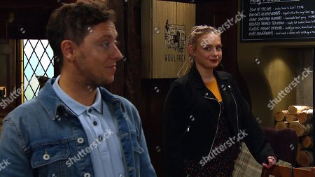 Emmerdale - Ep 8833 Wednesday 9th September 2020 When Amy Wyatt, as played by Natalie Ann Jamieson, arrives for her pizza tasting with Matty Barton, as played by Ash Palmisciano, she's knocked to see Marlon Dingle has invited others. Things get worse when Tracy Metcalfe arrives.