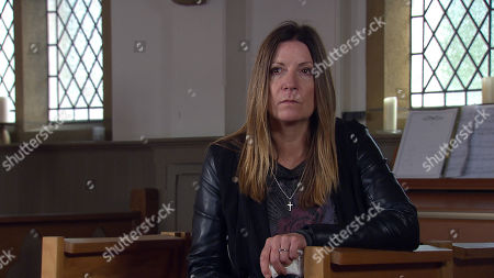 Emmerdale - Ep 8833 Wednesday 9th September 2020 Cain Dingle finds returned Harriet Finch, as played by Katherine Dow Blyton, sobbing will she confess all to her old flame?