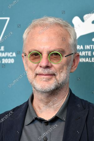 Stock Picture of Director Daniele Luchetti during the photocall