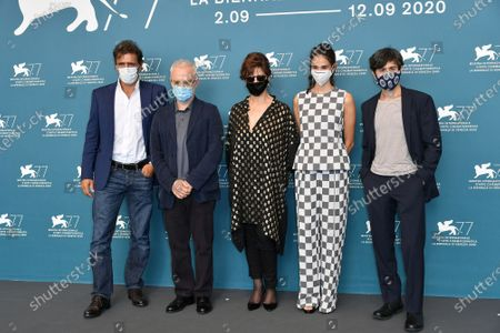 Editorial photo of 'The Ties' photocall, 77th Venice International Film Festival, Italy - 02 Sep 2020