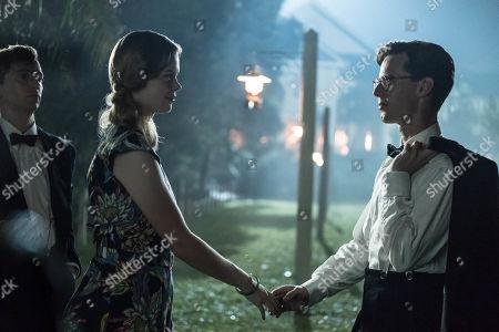 Georgia Blizzard as Joan and Luke Treadaway as Matthew Webb.