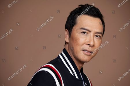 """Donnie Yen, a cast member in the film """"Mulan,"""" poses for a portrait in Los Angeles"""