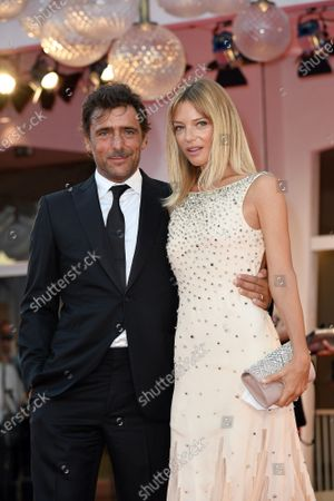 Adriano Giannini and wife Gaia Trussardi