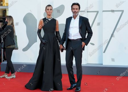 Stock Picture of Anthony Delon and Sveva Alviti