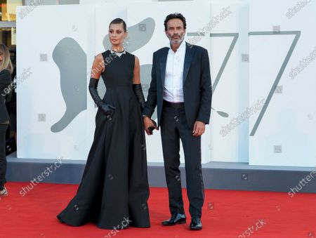 Anthony Delon and Sveva Alviti