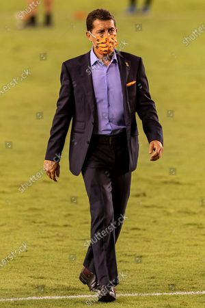Houston Dynamo head coach Tab Ramos after the win against the Minnesota United at BBVA Stadium in Houston, Texas. Maria Lysaker / CSM