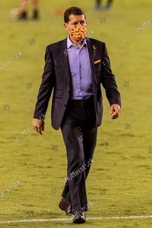 Houston Dynamo head coach Tab Ramos after the win against the Minnesota United at BBVA Stadium in Houston, Texas. Maria Lysaker / CSM