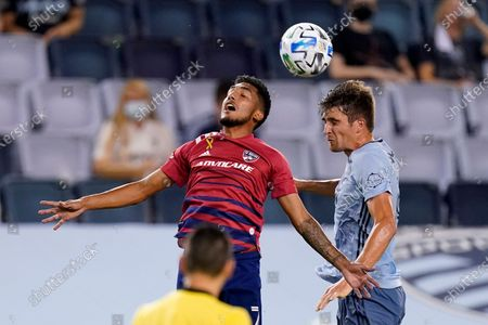 Editorial picture of MLS FC Dallas Sporting KC Soccer, Kansas City, United States - 02 Sep 2020