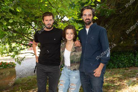 Stock Image of Hugo Becker, Lya Oussadit Lessert  and Romain Quirot