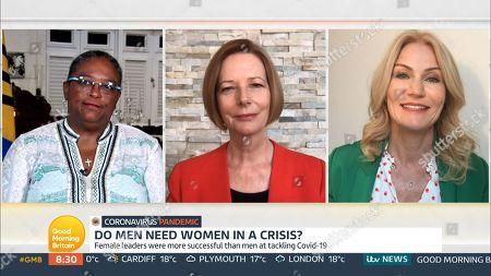 Mia Mottley, Julia Gillard, Helle Thorning-Schmidt