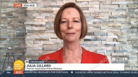 Editorial image of 'Good Morning Britain' TV Show, London, UK - 03 Sep 2020