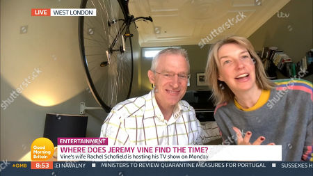 Jeremy Vine and wife