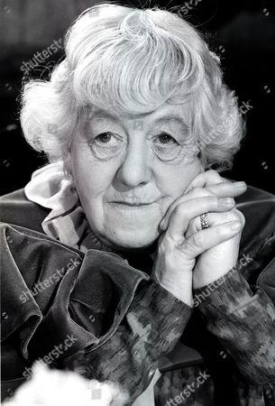Margaret Rutherford.