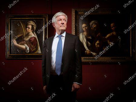 Stock Image of BBC director general Tony Hall