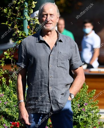 Charles Dance arrives at Lido Beach for the 77th annual Venice International Film Festival, in Venice, Italy, 03 September 2020. The 77th edition of the festival runs from 02 to 12 September 2020.