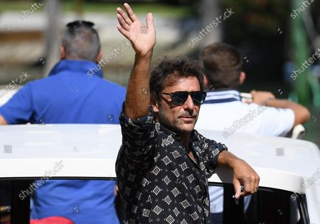 Stock Photo of Adriano Giannini leaves Lido Beach during the 77th annual Venice International Film Festival, in Venice, Italy, 03 September 2020. The event is the first major in-person film fest to be held in the wake of the Covid-19 coronavirus pandemic. The 77th edition of the festival runs from 02 to 12 September 2020.