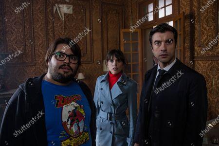 Brays Efe as Jorge Elias, Veronica Echegui as Norma and Javier Rey as David Valentin