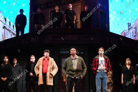 Editorial picture of Only Fools and Horses Silent Stand, London, UK - 3 Sep 2020
