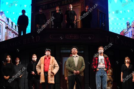 Editorial photo of Only Fools and Horses Silent Stand, London, UK - 3 Sep 2020