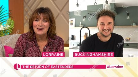 Editorial picture of 'Lorraine' TV Show, London, UK - 03 Sep 2020
