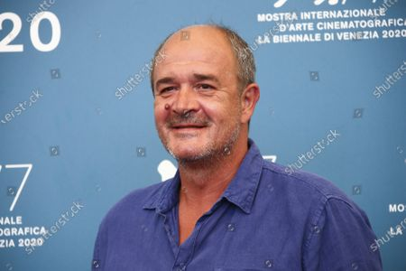 Actor Boris Isakovic poses for photographers at the photo call for the film 'Quo Vadis, Aida ?' during the 77th edition of the Venice Film Festival in Venice, Italy