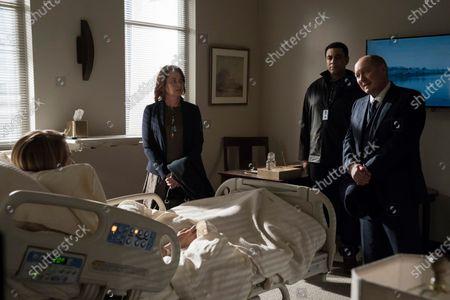 Laila Robins as Katarina Rostova, Harry Lennix as Harold Cooper and James Spader as Raymond 'Red' Reddington