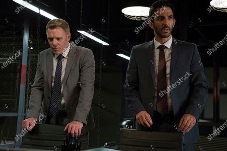 Diego Klattenhoff as Donald Ressler and Amir Arison as Aram Mojtabai