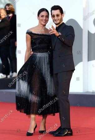 Stock Image of Natasha Andrews and Pierre Niney