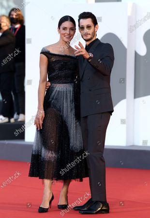 Stock Picture of Natasha Andrews and Pierre Niney