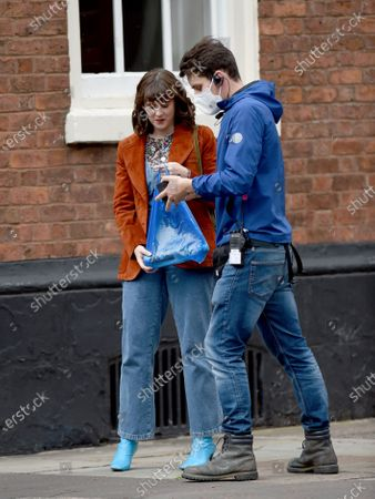 Alexandra Roach films Viewpoint in Manchester, the first ITV drama to resume filming.