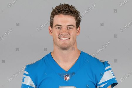 This is a 2020 photo of Jack Fox of the Detroit Lions NFL football team. This image reflects the Detroit Lions active roster as of when this image was taken