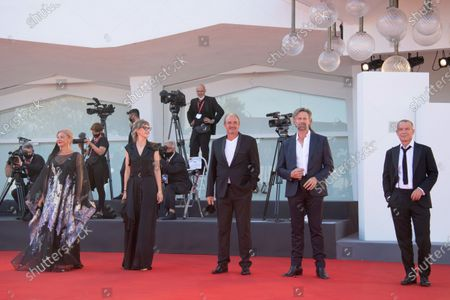 Stock Image of Jasna Djuricic, Jasmila Zbanic, Boris Isakovic, Johan Heldenbergh and Raymond Thiry