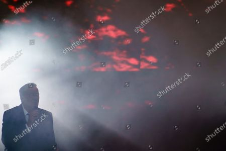 Editorial photo of German Singer Roland Kaiser performs at the Waldbuehne auditorium, Berlin, Germany - 03 Sep 2020