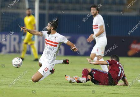 Editorial photo of Zamalek vs Pyramids, Cairo, Egypt - 03 Sep 2020