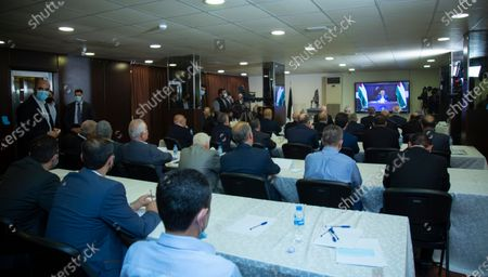 Editorial photo of Palestinian national action factions meeting in Beirut, Lebanon - 03 Sep 2020
