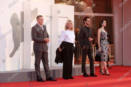 Benoit Magimel, Nicole Garcia, Pierre Niney and Stacy Martin