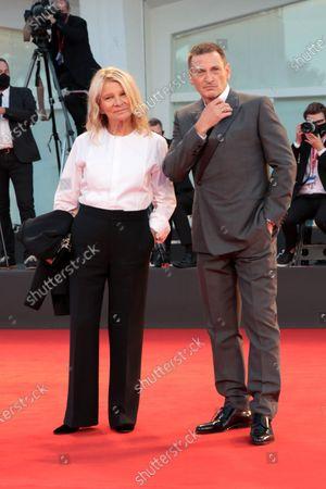 Benoit Magimel and Nicole Garcia