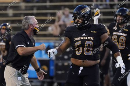 Editorial image of S Alabama Southern Miss Football, Hattiesburg, United States - 03 Sep 2020