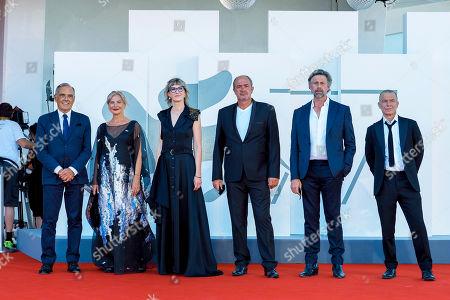 Alberto Barbera, Jasna Djuricic, Jasmila Zbanic, Boris Isakovic, Johan Heldenbergh and Raymond Thiry