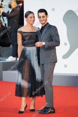 Natasha Andrews and Pierre Niney
