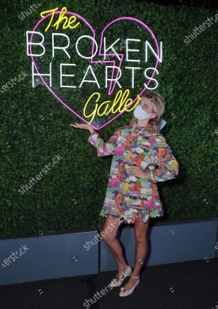 Megan Ferguson seen at The Broken Hearts Gallery x Sony Pictures Drive-In Experience at the Sony Pictures.