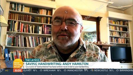 Stock Photo of Andy Hamilton