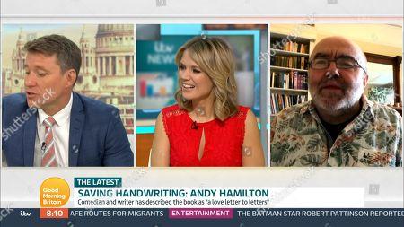 Ben Shephard, Charlotte Hawkins and Andy Hamilton