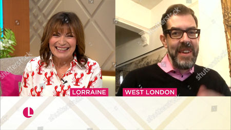 Lorraine Kelly and Richard Osman