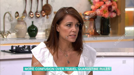 Editorial image of 'This Morning' TV Show, London, UK - 04 Sep 2020