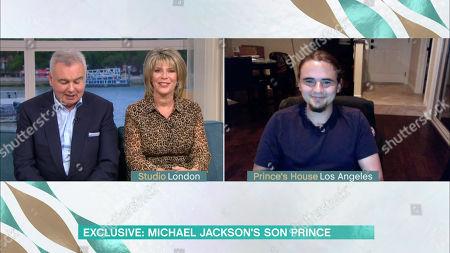 Eamonn Holmes, Ruth Langsford and Michael Joseph Jackson Jr