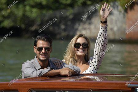 Stock Image of Frank Gallucci and Giulia Gaudino