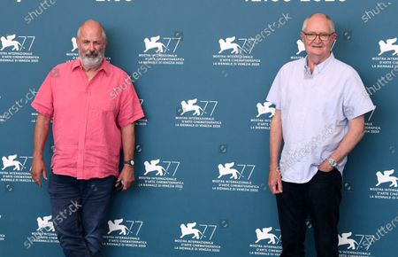 Stock Image of Jim Broadbent and Roger Michell
